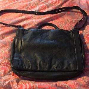 Leather computer bag/ brief case
